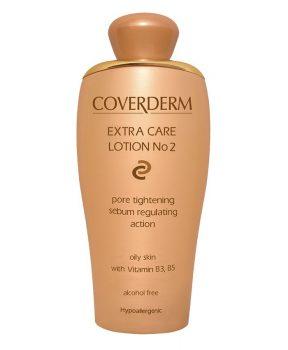 Coverderm Extra Care Lotion No.2 tonik olajos bőrre 200 ml