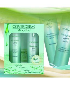 Coverderm Maxydrat Combipack Visage 30 ml + Serum 20 ml