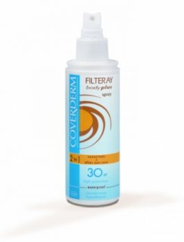 Coverderm Filteray Body Plus SPF30+ spray 2in1 150 ml