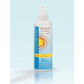 Coverderm Filteray Body Plus SPF20 spray 2in1 150 ml