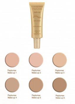 Coverderm Peptumax Make-up ránctalanító alapozó 30 ml