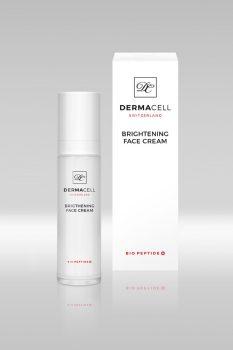 Dermacell Collagen Bio Peptide Brightening Face Cream - bőrhalványító, feszesítő arckrém 50 ml