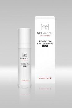 Dermacell Collagen Bio Peptid Revital 3D & after shave - férfi collagen arcfeszesítő krém 50 ml